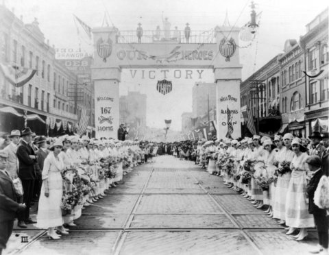 Victory Parade in Montgomery, Alabama