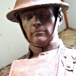 Detailed Head of Soldier